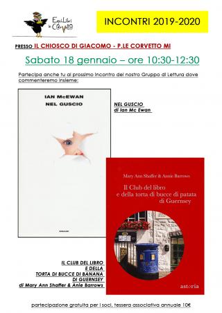 Incontri 2019-2020: 18 gennaio @ chioschi AZZAIP   Milano   Lombardia   Italia