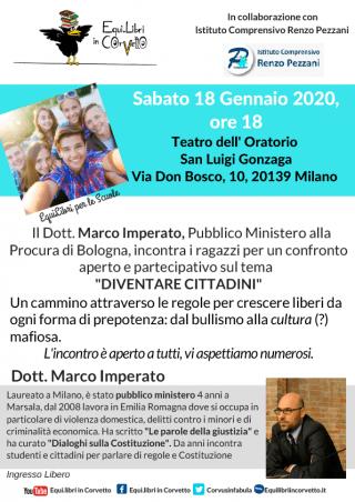 Marco Imperato @ Teatro dell'Oratorio San Luigi Gonzaga   Milano   Lombardia   Italia