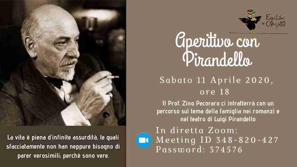 aperitivo con Pirandello